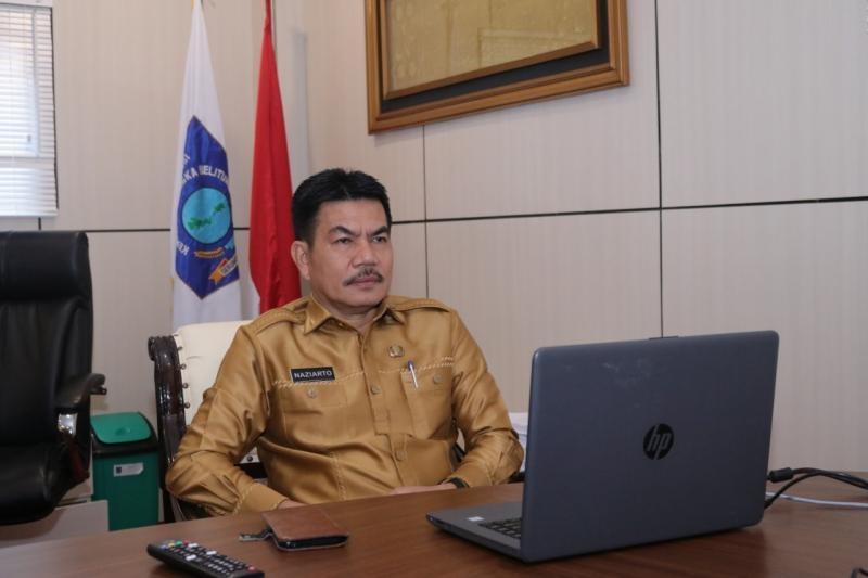 Pemprov. Babel Ikuti Koordinasi Pemanfaatan Anjungan Pemda se-Indonesia