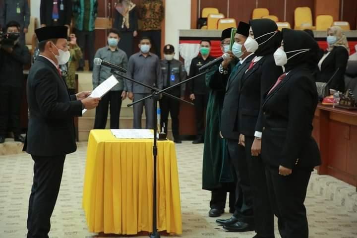DPRD Gelar Rapat Paripurna Pengambilan Sumpah-Janji Tiga Anggota PAW