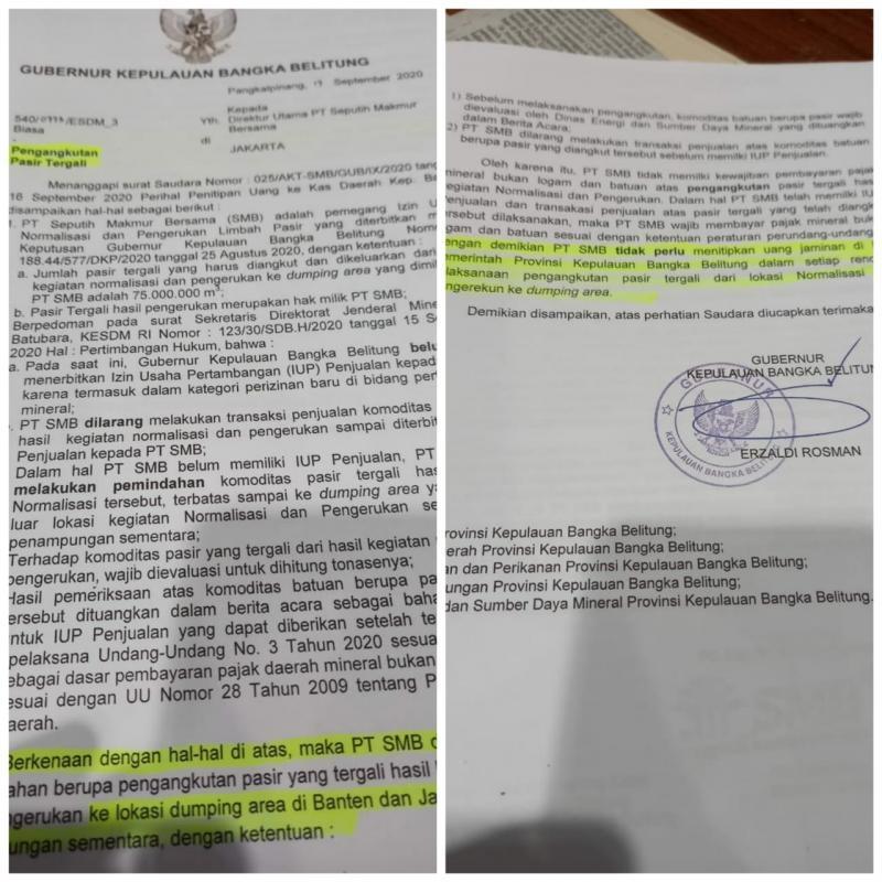 Surat Sakti Gubernur Jadi Dasar Terbitnya SPB