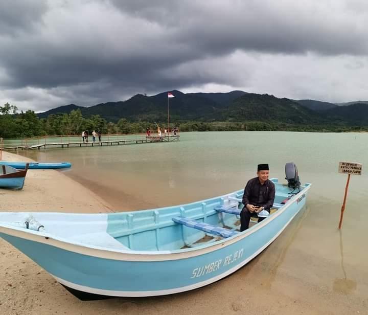 Pansus Kepariwisataan Kunjungi Destinasi Wisata Danau Pading