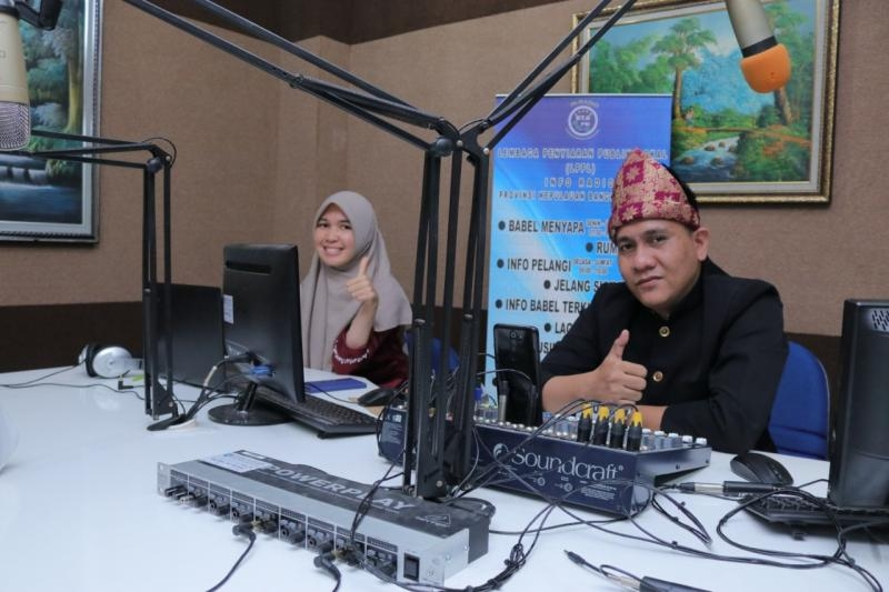 In Radio Kepulauan Babel 97,6 FM Raih 3 Penghargaan dari Indonesiapersada.id