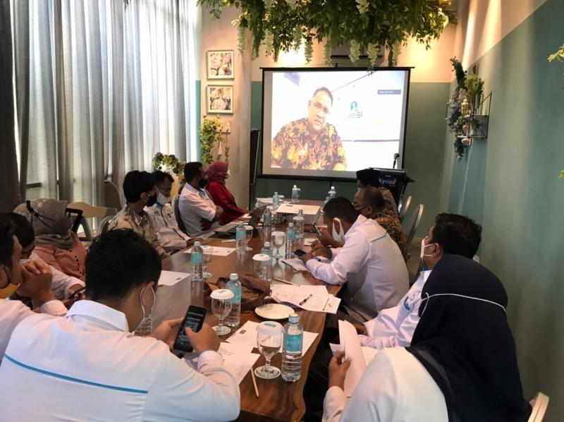 Ketum JMSI Buka Rakerda Pengda JMSI Aceh