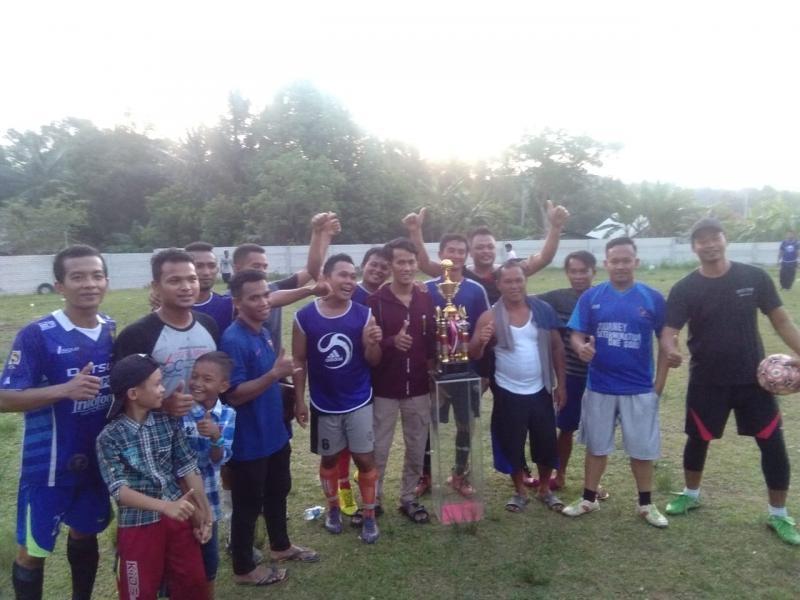 The Blues Madrasah FC Juara Tebing Cup 2018