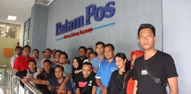 Humas Pemkot Pangkalpinang Dan Wartawan Belajar Ke Batam Pos