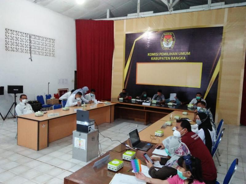 Pemutakhiran Daftar Pemilih Berkelanjutan Semester I 2021  - KPU Data 896 Pemilih Baru