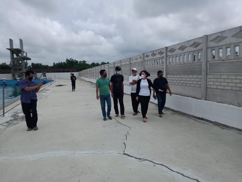 Ketua DPRD Bateng Prihatin Lihat Kolam Renang Beluluk