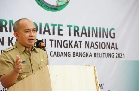 .Walikota Membuka Acara LK II HMI Tingkat Nasional Cabang Bangka Belitung