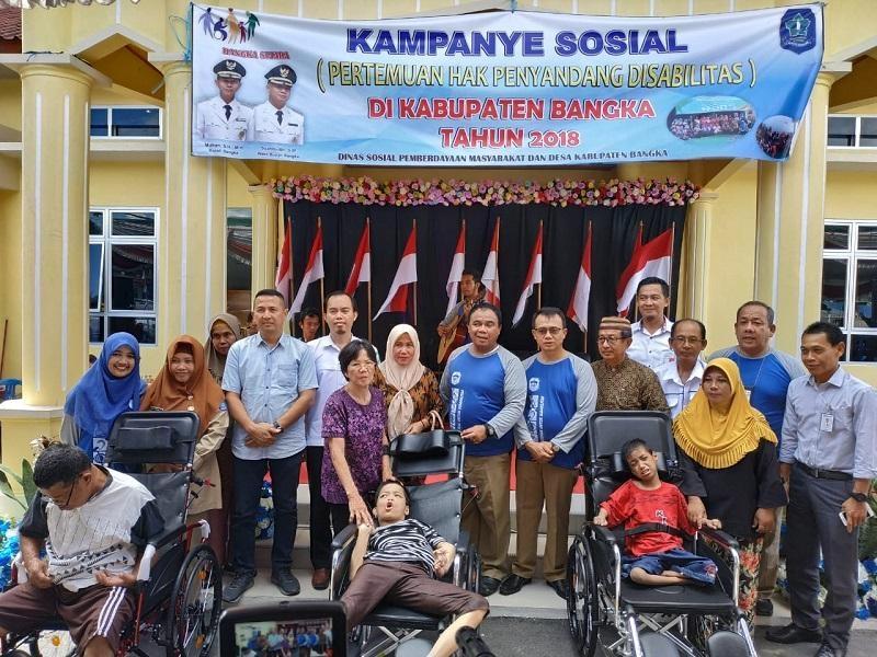 Wakil Bupati Bangka Hadiri Pertemuan Hak Penyandang Disabilitas