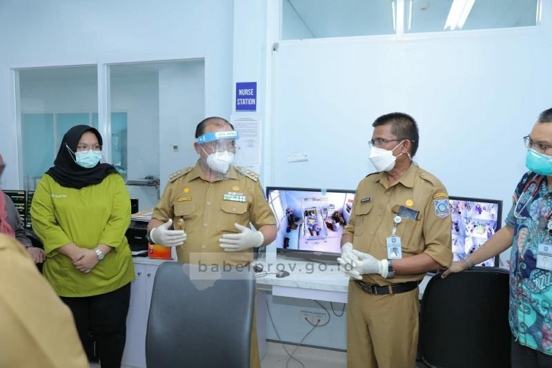 Antisipasi Lonjakan Covid-19, Gubernur Telah Siapkan Skenario Pelayanan Rumah Sakit