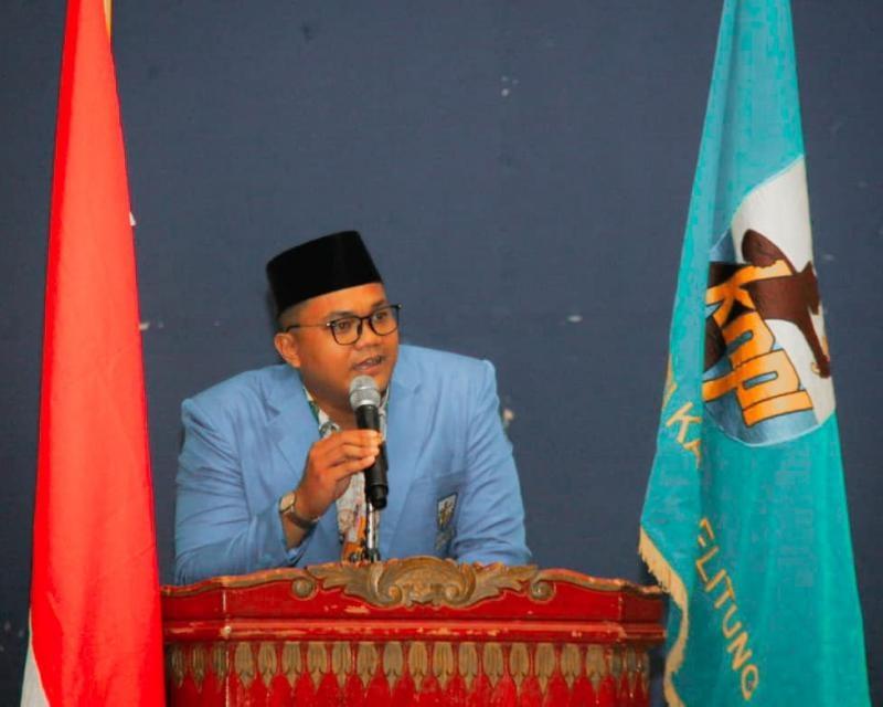 DPD KNPI Dan PC SAPMA Belitung :  Pemda jangan mengelola mineral ikutan timah secara serampangan