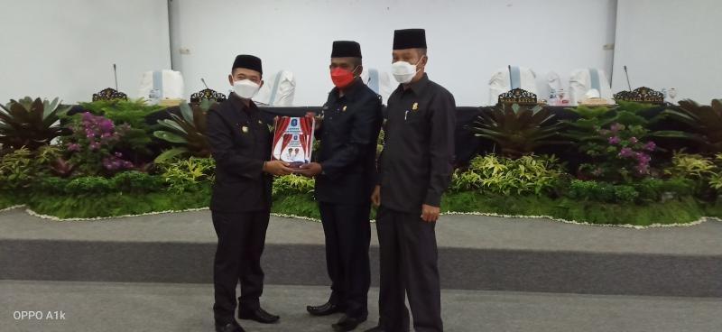 DPRD Bangka Gelar Rapat Paripurna LKPJ Bupati TA 2020