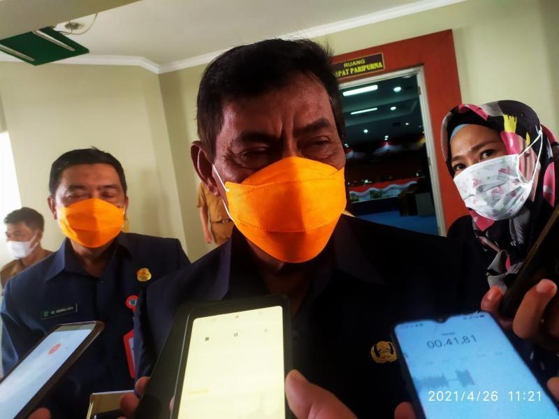 Terkait Pengamanan Alat Berat Yang dilakukan Oleh Tim Mabes Polri, Bupati Belitung: Kita Tahu Siapa Pemain- Pemainnya, Usut Sampai Tuntas