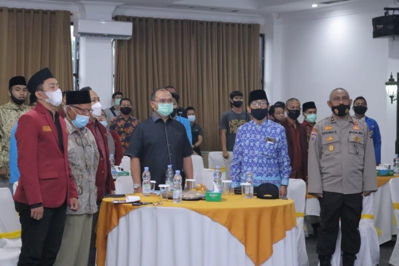 Gubernur Erzaldi Hadiri Pelantikan Dewan Pimpinan Daerah Ikatan Mahasiswa Muhammadiyah 2020-2022