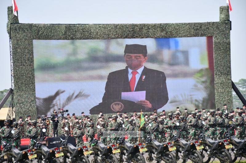 Bertolak ke Jawa Barat, Gubernur Hadiri Upacara Penetapan Komponen Cadangan TNI Tahun 2021