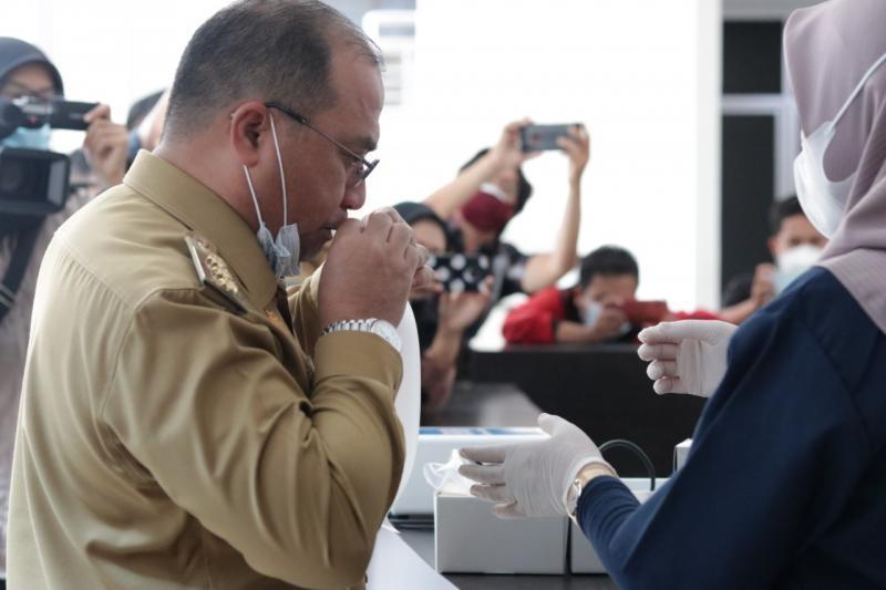 Gubernur Erzaldi Desak Angkasa Pura Sediakan Alat GeNose