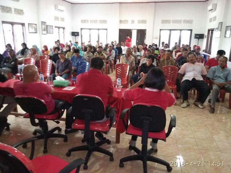 Didit Gelar Silahtuhrahmi Dengan Senior PDI Perjuangan