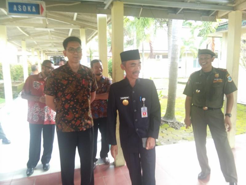 Hari Pertama Kerja Pasca Libur Lebaran, Pemkot Pangkalpinang Inspeksi Pegawai