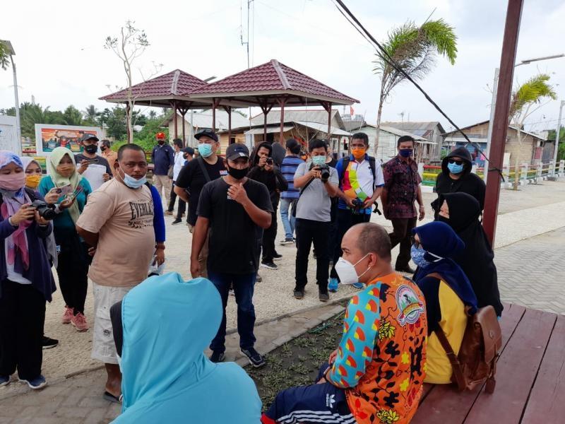 Walikota Tinjau Pembangunan Jalan Inspeksi di Kelurahan Opas