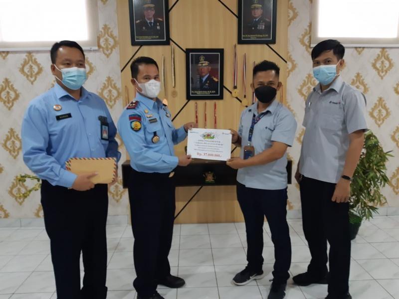 PT Timah Dukung Peningkatkan Sarpras Pelayanan Publik di Lapas Pangkalpinang