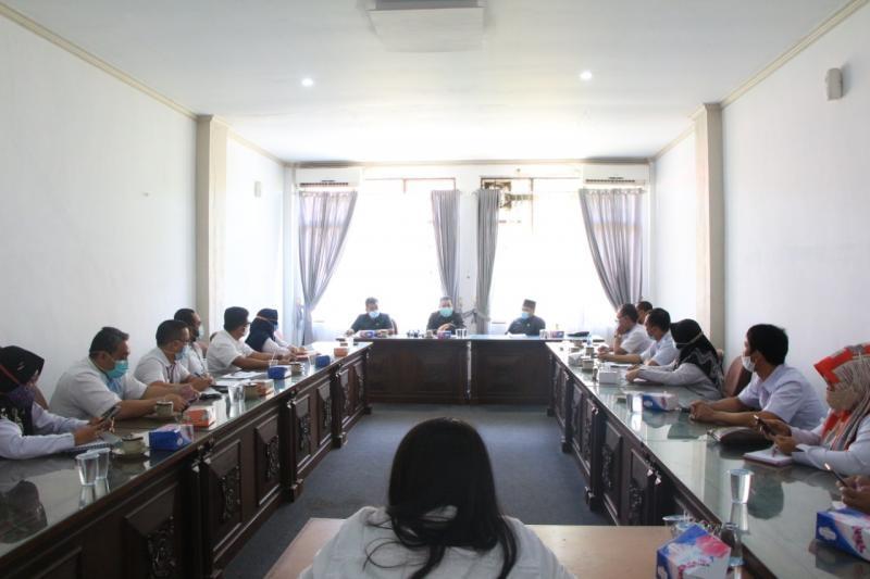 Komisi I Adakan Rakor Dengan Tiga Dinas