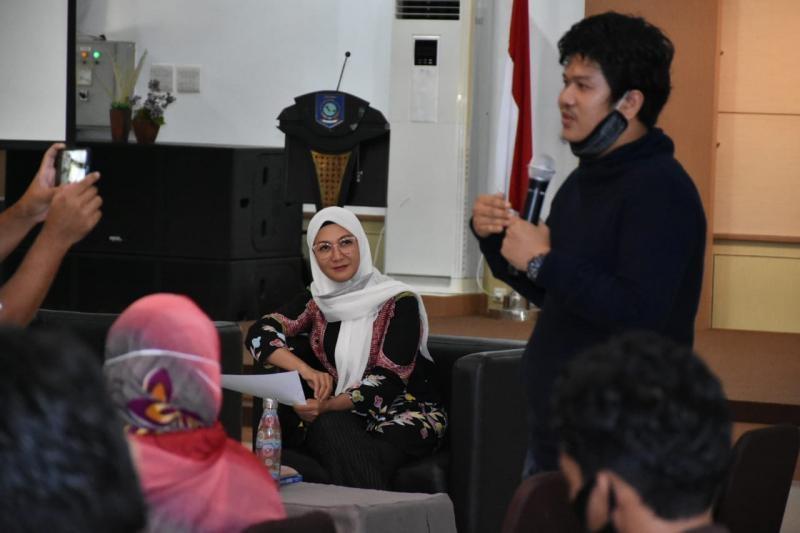 """Ibu Melati Erzaldi Cetuskan """"Kamis Sinergis"""" Bagi Volunteer dan Pelaku UMKM"""