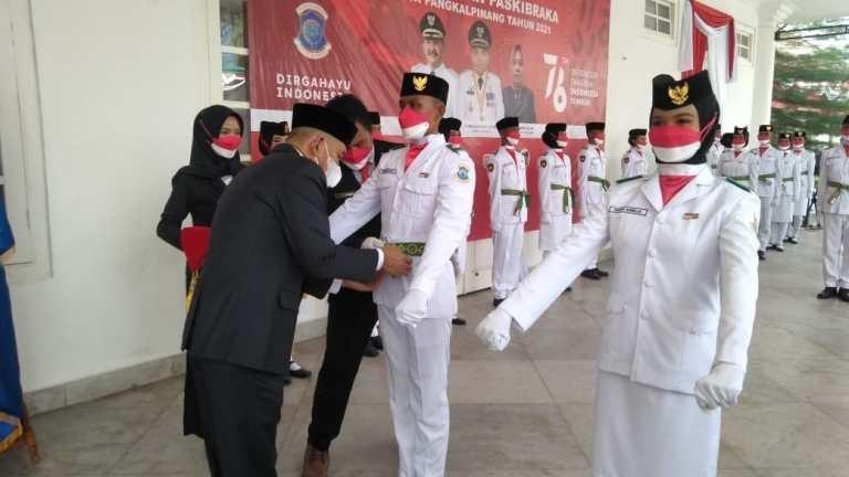 Wakil Walikota Kukuhkan Anggota Paskibraka
