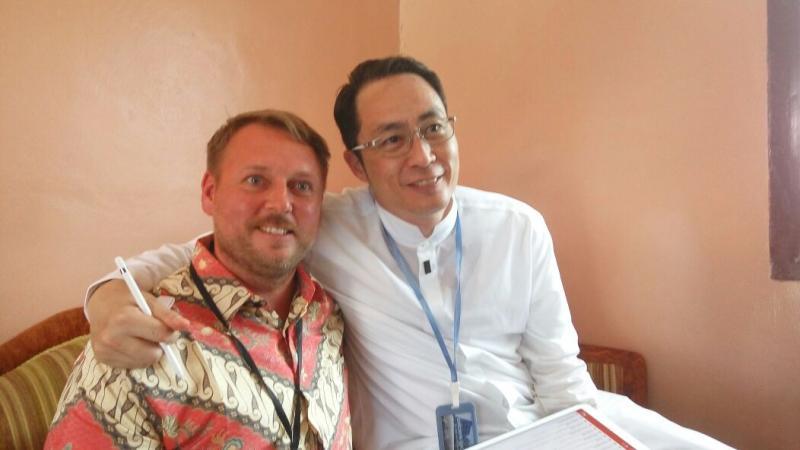 David Wong ke Bukit Layang Demi Ibunda