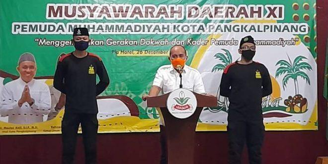 Molen Buka Rakerda dan Musda ke XI Pemuda Muhammadiyah Kota Pangkal Pinang