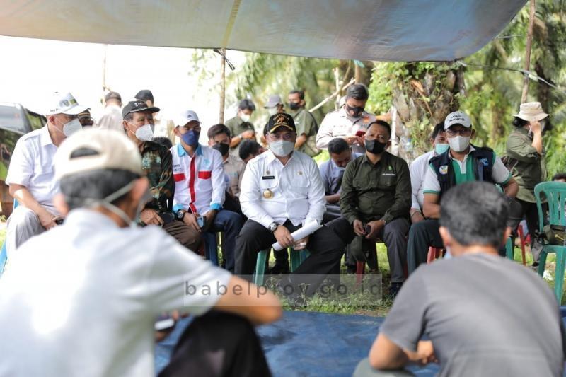 Kunjungi Kelompok Tani, Gubernur Erzaldi Beri Solusi