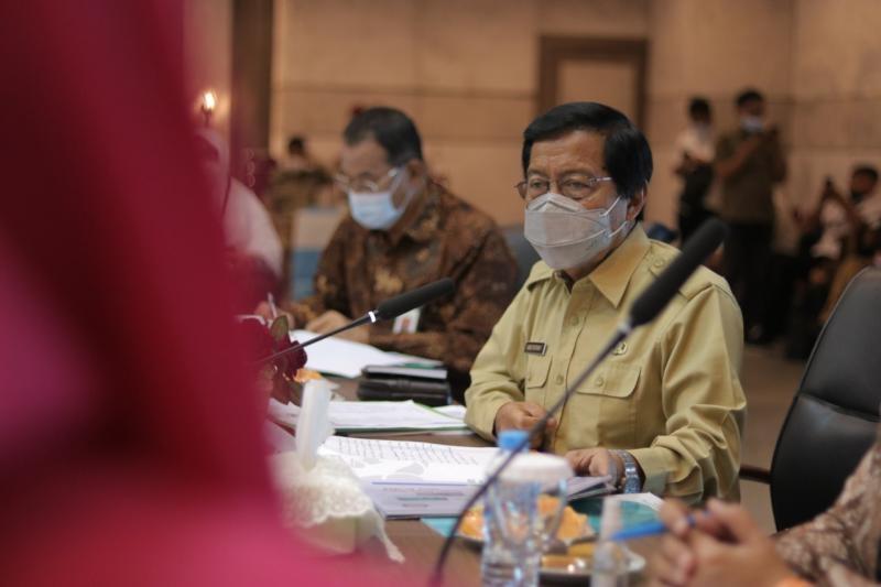 Pemprov Babel Sampaikan Kondisi Kesehatan dan Ketenagakerjaan di Babel Kepada Komisi IX DPR RI