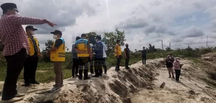 Tinjau DAS Pedindang, Komisi III DPRD Babel Sarankan Penampung Air