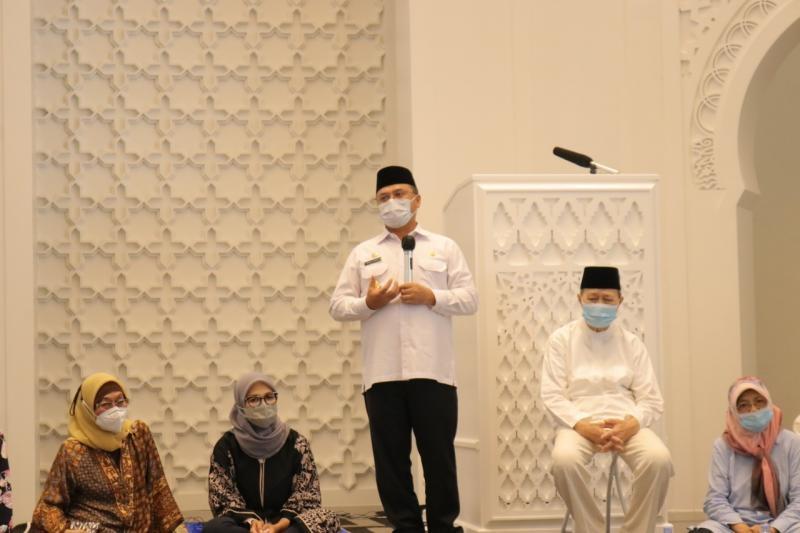Resmikan Masjid Jami Soeprapto Suparno, Gubernur Pesan Tingkatkan Fungsi Masjid Sebagai Penggerak Ekonomi Umat