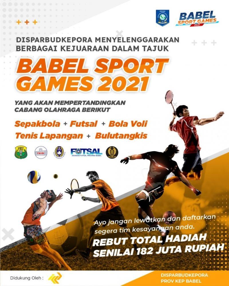 Ayo...Saksikan Babel Sport Games 2021