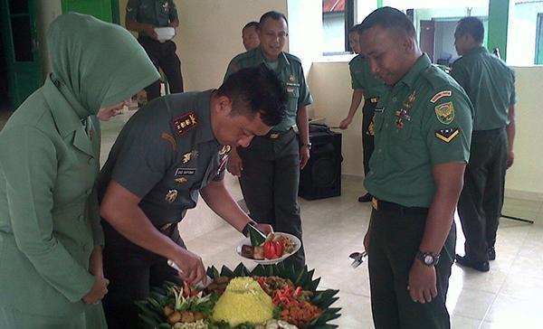 KODIM Belitung Gelar Syukuran Dalam Rangka HUT KODAM II/SRIWIJAYA