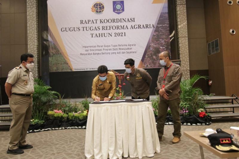 Sekda : Reforma Agraria Sebagai Upaya Penataan Kembali Penguasaan, Pemilikan, Penggunaan dan Pemanfaatan Tanah