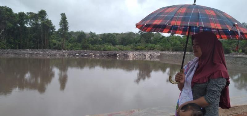 Embung di Desa Saing Langsung Dirasakan Manfaatnya Oleh Masyarakat