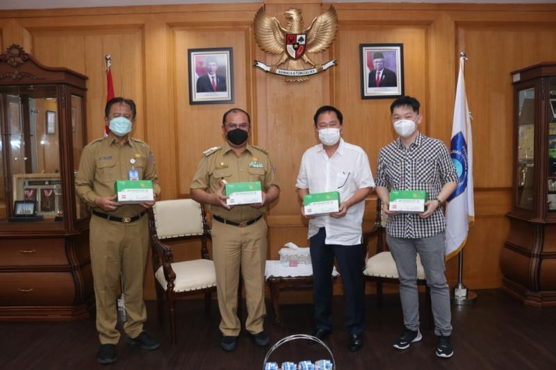 Terima Alat Rapid Tes Antigen Covid-19 Gubernur: Ini Bentuk Gotong Royong dan Kebersamaan