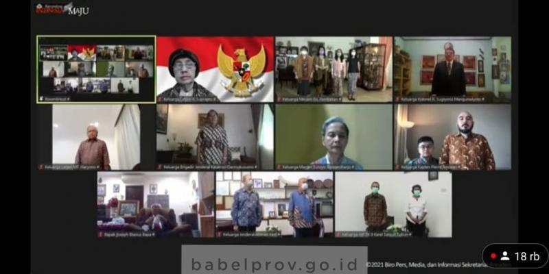 Gubernur Erzaldi Hadiri Upacara Peringatan Hari Kesaktian Pancasila