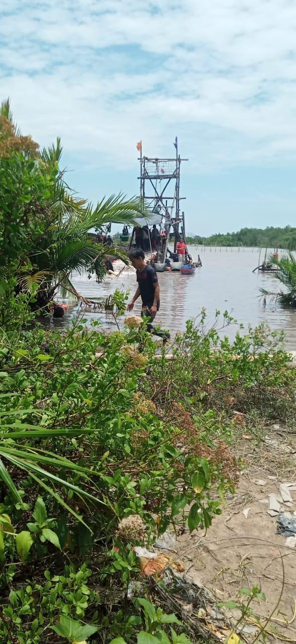 Aktivitas Tambang Timah Ilegal Teluk Bayur