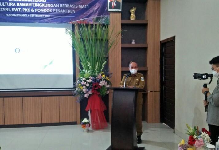 Walikota Hadiri Bimtek Budidaya Hortikultura Ramah Lingkungan Berbasis MA- 11