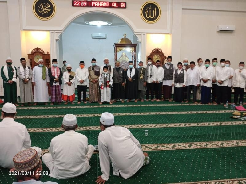 Molen Hadiri Peringatan Isra Miraj 1442 Hijriah Di Bukit Merapin