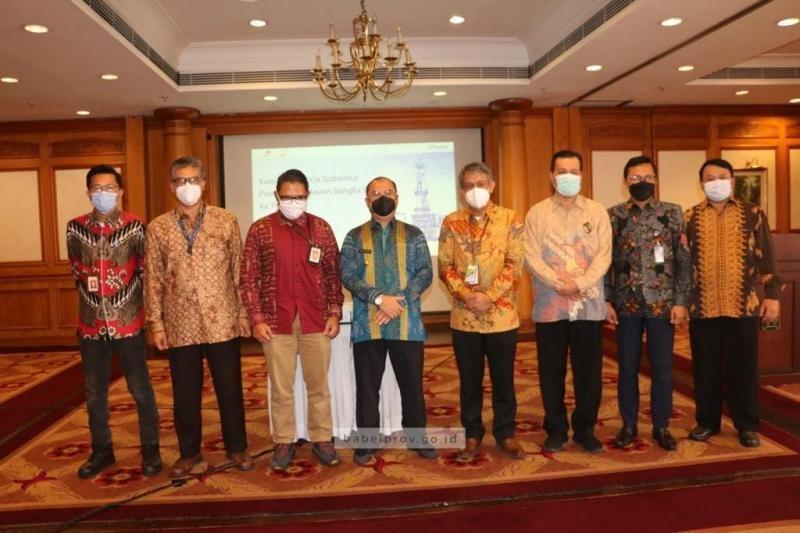 Gubernur Harap Pertamina Hulu Energi Maksimalkan Potensi Minyak dan Gas Bumi Bangka Belitung