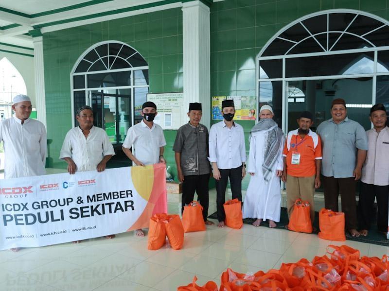 ICDX Group dan Member Peduli, Salurkan Paket Sembako ke Masyarkat