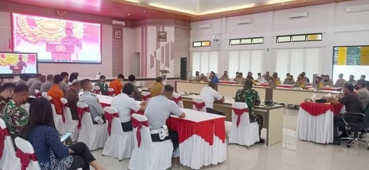 Ketua DPRD Herman Suhadi Ikut Saksikan Launching SIM Online Bersama Kapolda