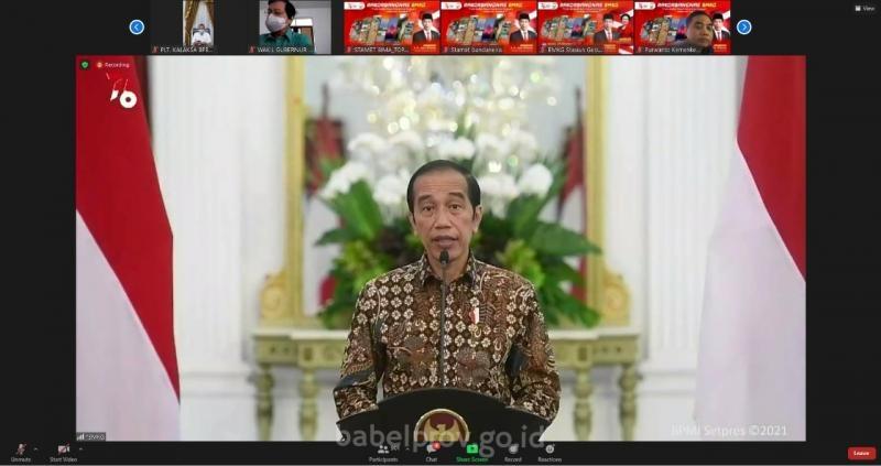Presiden Jokowi : Informasi BMKG Harus Jadi Rujukan