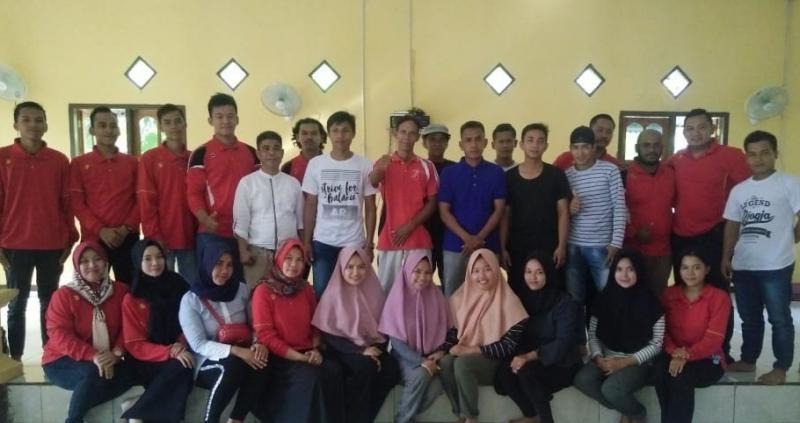 Pelajar Desa Gudang Ikuti Penyuluhan Hukum Dari Mahasiswa KKN Ke 16 STIH Pertiba