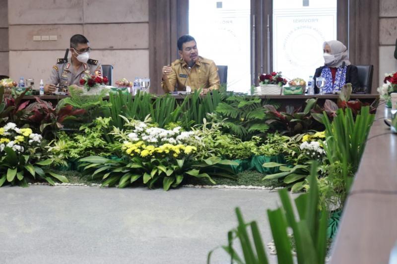 Peserta Program Pendidikan Reguler Angkatan LXII Lemhannas RI Lakukan Studi Tata Kelola Pemerintahan di Bangka Belitung