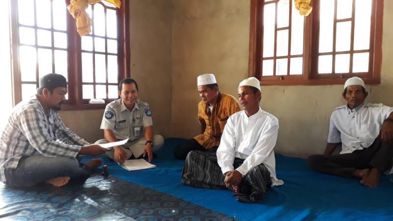 Jasa Raharja Santuni Korban Lakalntas di Bangka Tengah