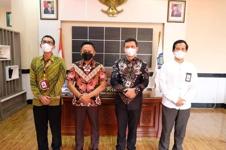 Ketua DPRD Herman Suhadi Sambut Baik Sinergitas Ombusman