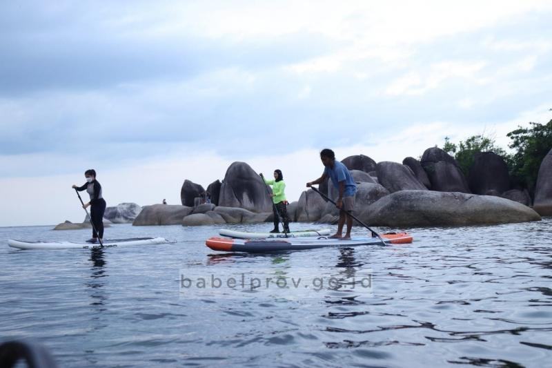 Olahraga Paddle di Tanjung Tinggi
